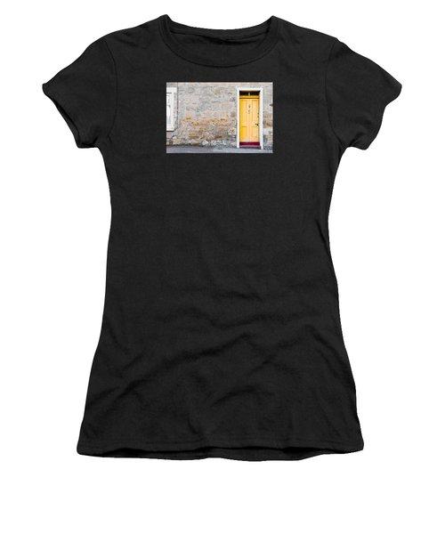 Yellow Door Women's T-Shirt (Athletic Fit)