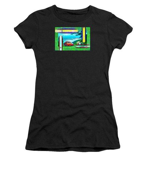 60's Surfing Women's T-Shirt