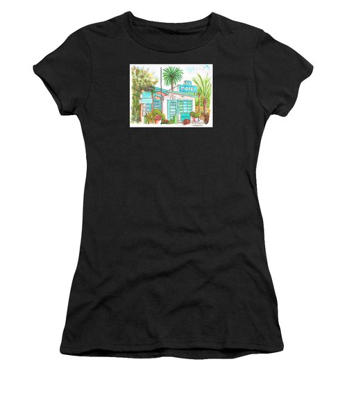 66 Motel In Needles, California Women's T-Shirt (Athletic Fit)
