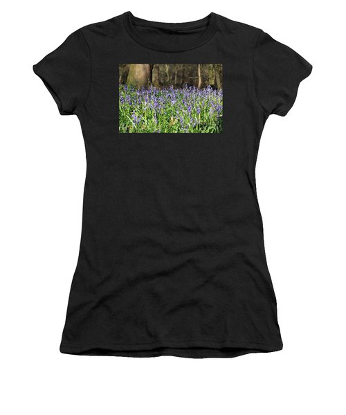 Bluebells At Banstead Wood Surrey Uk Women's T-Shirt