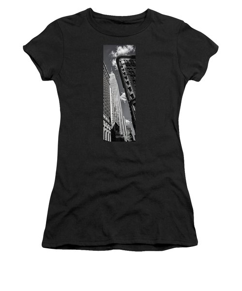 Women's T-Shirt featuring the photograph New York  by Juergen Held