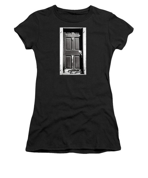 Women's T-Shirt (Junior Cut) featuring the photograph 74 North Ave. by Bruce Carpenter