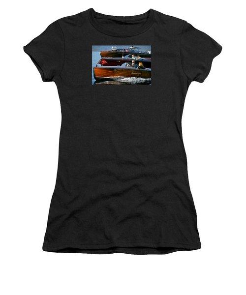 Classic Wooden Runabouts Women's T-Shirt