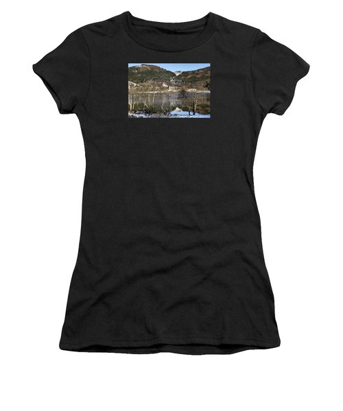 Trossachs Scenery In Scotland Women's T-Shirt