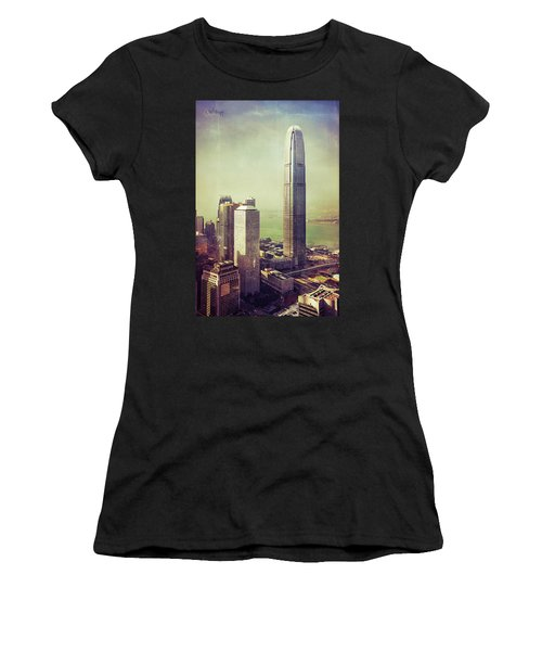 Women's T-Shirt (Athletic Fit) featuring the photograph 88 Floors by Joseph Westrupp