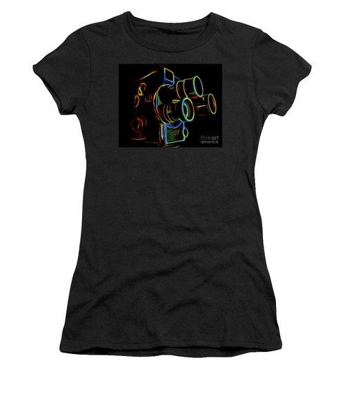 8mm In Neon Women's T-Shirt