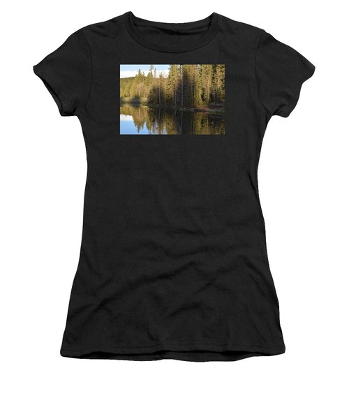 Shadow Reflection Kiddie Pond Divide Co Women's T-Shirt