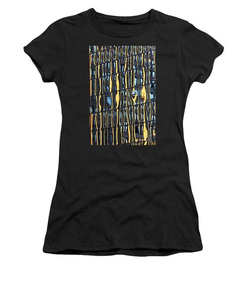 Abstract Reflection Women's T-Shirt (Athletic Fit)