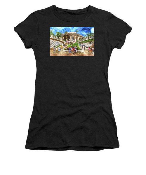 Parc Guell In Barcelona Spain Women's T-Shirt