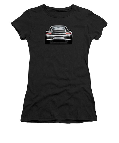 911 Carrera Women's T-Shirt (Junior Cut) by Mark Rogan