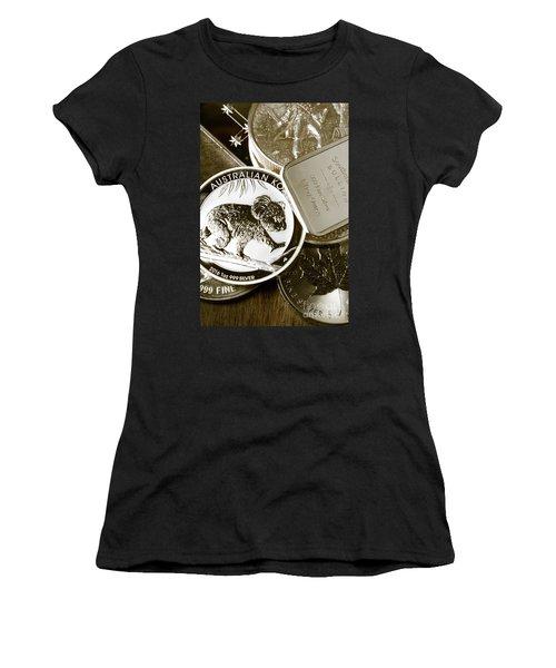 999 Silver Mint Women's T-Shirt