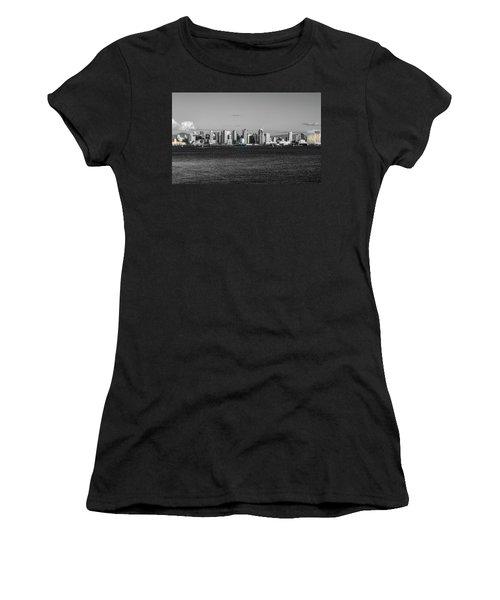 A Bit Of Color Women's T-Shirt (Athletic Fit)