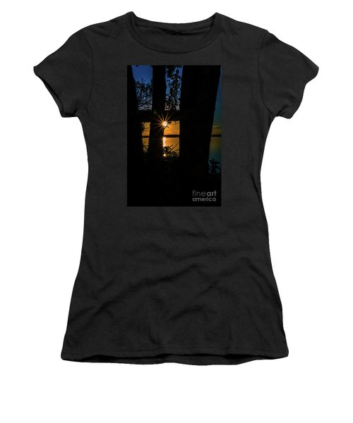 A Blissful Evening Women's T-Shirt (Athletic Fit)