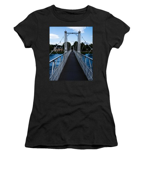 A Bridge For Walking Women's T-Shirt (Athletic Fit)