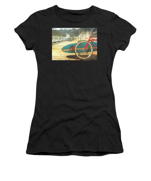 A California Postcard Women's T-Shirt (Athletic Fit)