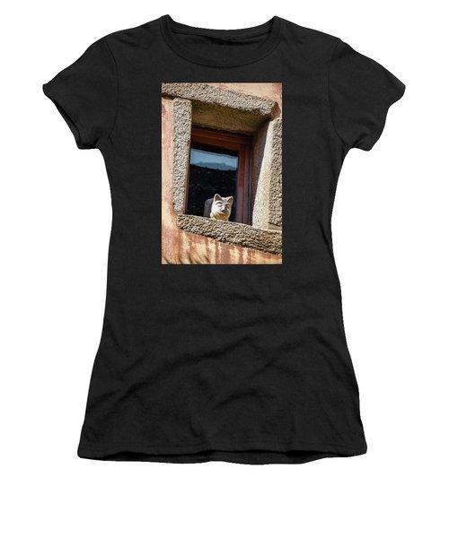 A Cat On Hot Bricks Women's T-Shirt