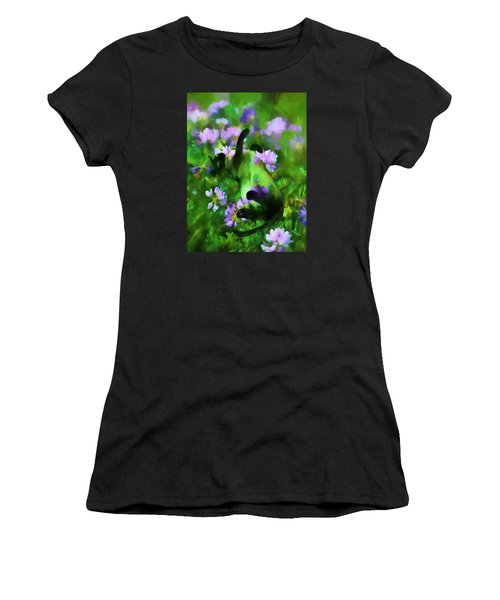 A Cat's Dream Women's T-Shirt (Athletic Fit)