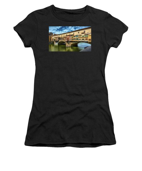 A Closer Look To Ponte Vecchio Women's T-Shirt