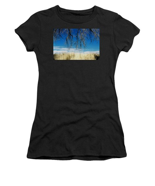 A Comfortable Place Women's T-Shirt (Athletic Fit)