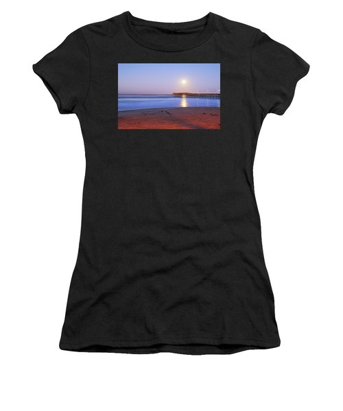 A Crystal Moon Women's T-Shirt (Athletic Fit)