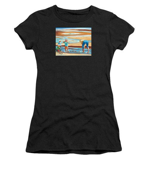 A Day At The Beach Women's T-Shirt