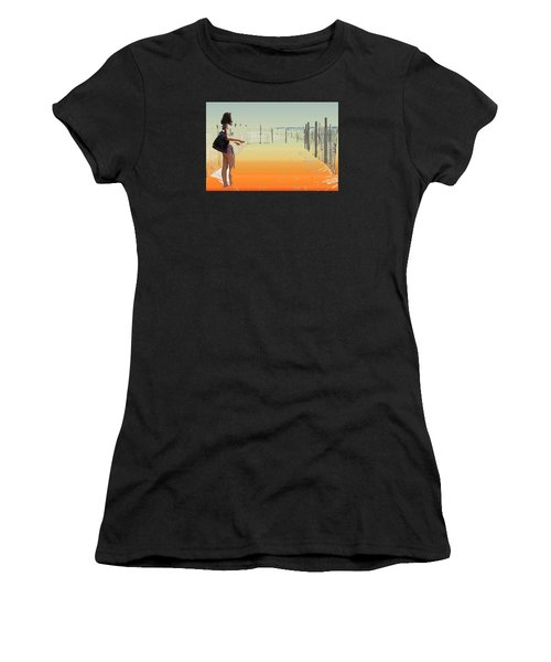A Day To Enjoy Women's T-Shirt (Athletic Fit)