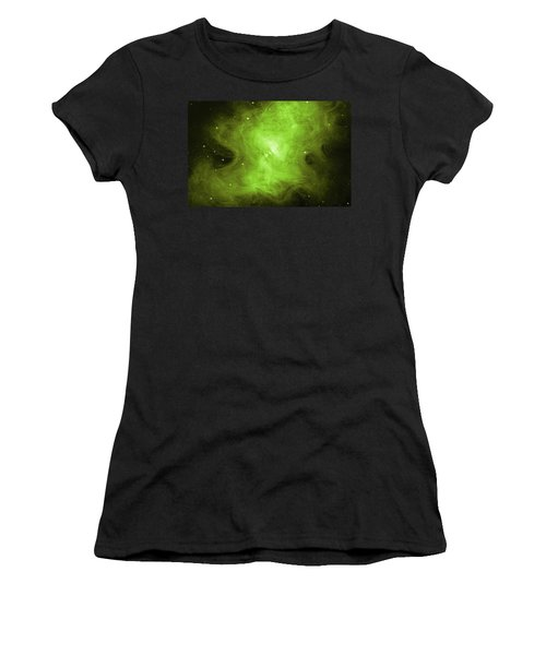 Women's T-Shirt (Junior Cut) featuring the photograph A Death Star's Ghostly Glow by Nasa