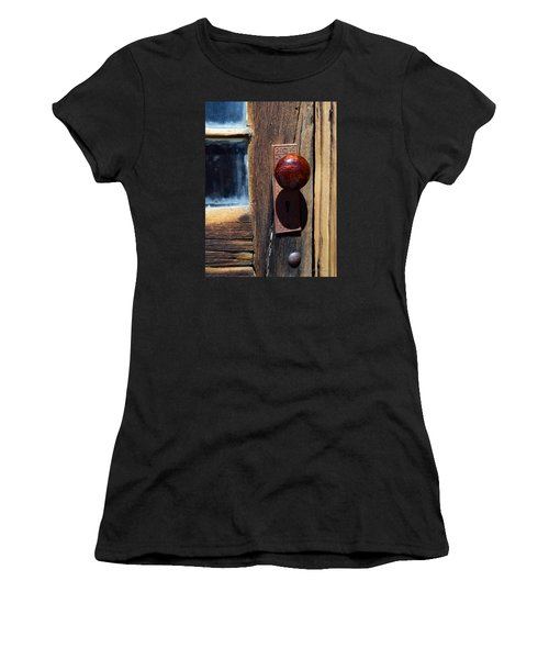A Door To The Past Women's T-Shirt (Athletic Fit)