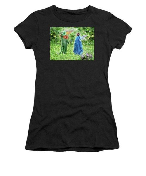 A Dragon Confides In A Fairy Women's T-Shirt