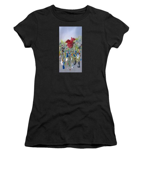 A Face In The Crowd Women's T-Shirt (Athletic Fit)
