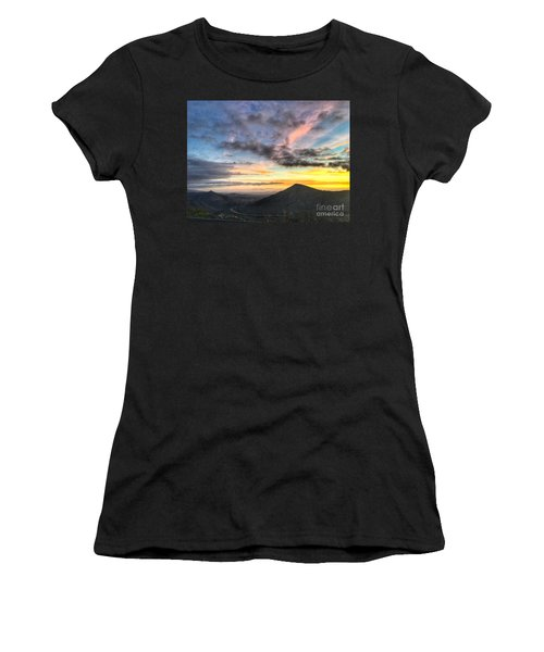 A Feeling Of The Presence Of God - Digital Painting Women's T-Shirt