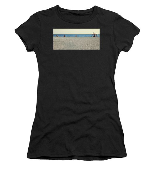 A Fine Day At The Beach Women's T-Shirt (Athletic Fit)