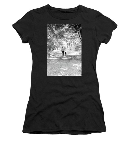 A Girl And Her Dog Women's T-Shirt