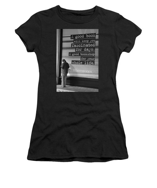 A Good Book Women's T-Shirt (Athletic Fit)