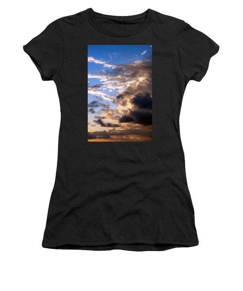 Women's T-Shirt (Junior Cut) featuring the photograph a Good Morning by Allen Carroll