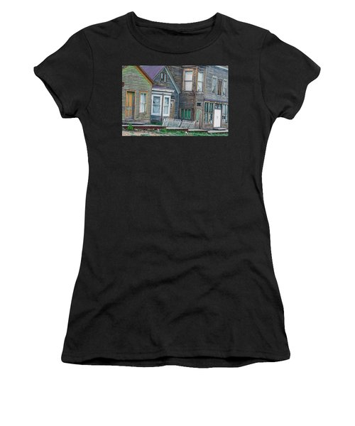 A Haimish Abode From A Bygone Era Women's T-Shirt (Athletic Fit)
