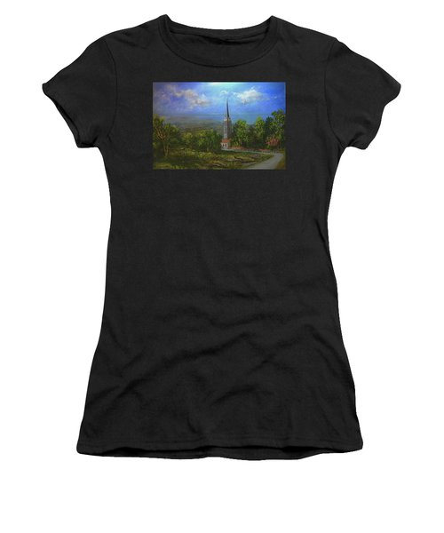 A Higher Place Women's T-Shirt (Athletic Fit)