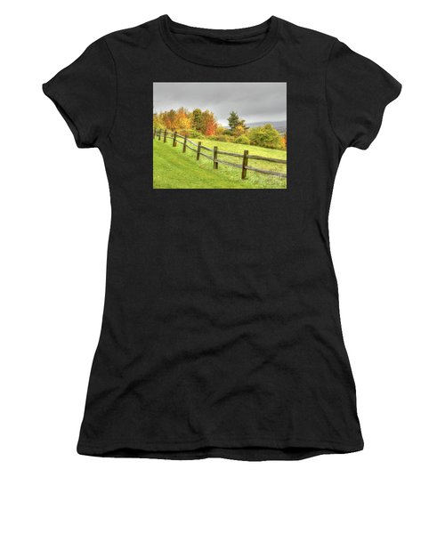A Highland Forest Autumn Women's T-Shirt