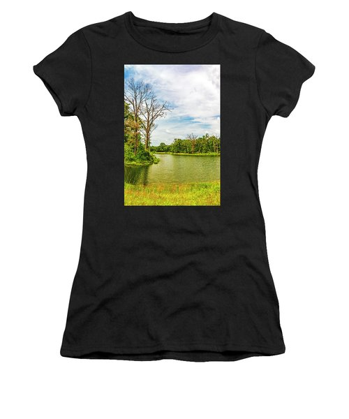 A Hot Day At The Pond Women's T-Shirt