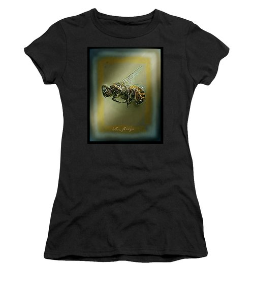 A Humble Bee Remembered Women's T-Shirt (Athletic Fit)