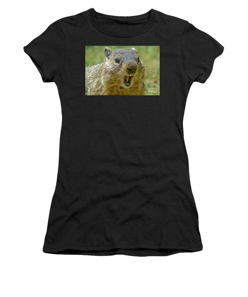 A Hungry Fellow  Women's T-Shirt (Athletic Fit)
