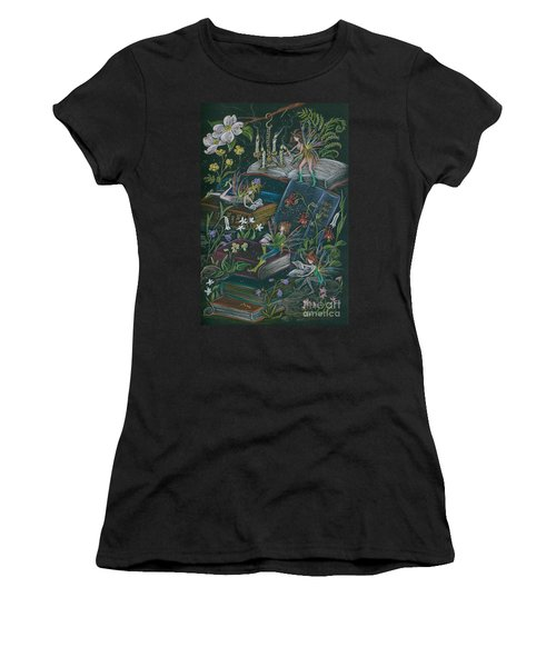 A Little Light To Read By Women's T-Shirt (Athletic Fit)