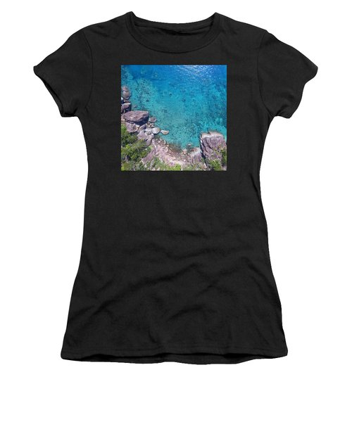 A Little Square Of Paradise  Women's T-Shirt (Athletic Fit)