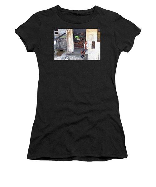 A Moment Of Reflection Women's T-Shirt