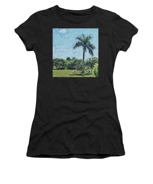 A Monet Palm Women's T-Shirt