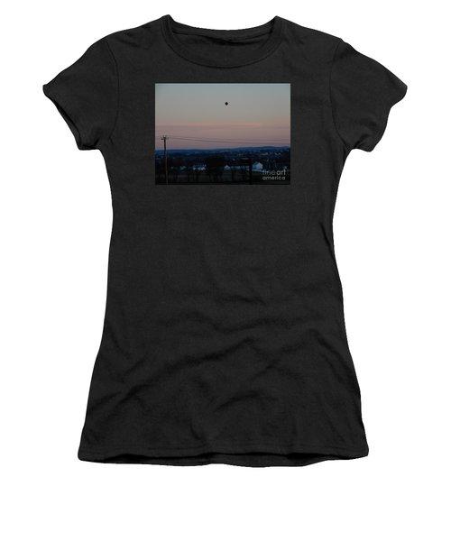 A Morning Hot Air Balloon Ride Women's T-Shirt