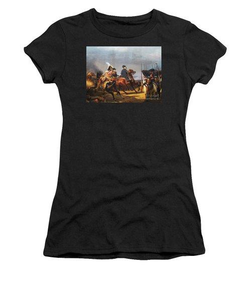 A Napoleonic War At Versailles Women's T-Shirt (Junior Cut) by Al Bourassa