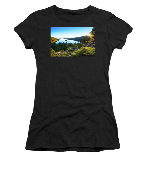 A New Day Over Emerald Bay Women's T-Shirt