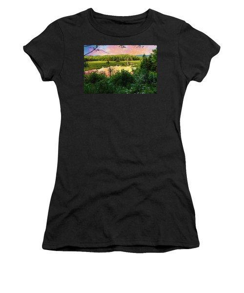A New England Bog. Women's T-Shirt