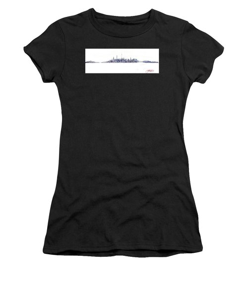 A New Year In Manhattan Women's T-Shirt